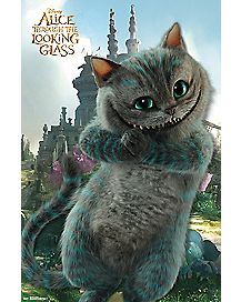 Cheshire Through The Looking Glass Alice In Wonderland Poster