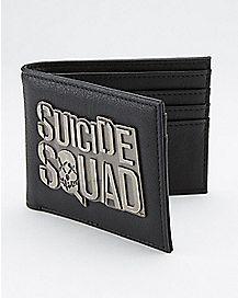 Metal Logo Suicide Squad Bifold Wallet
