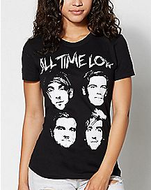 Four Faces All Time Low T shirt