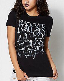 Grey Scale Black Veil Brides T shirt