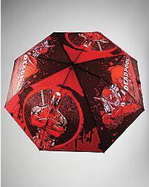 Splatter Deadpool Umbrella