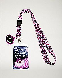 Cheshire Cat Lanyard - Alice in Wonderland