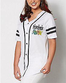 Pokemon Jersey T Shirt