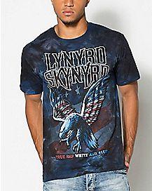True Red White & Blue Flag Lynyrd Skynyrd T shirt