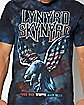 True Red White & Blue Flag Lynyrd Skynyrd T shirt