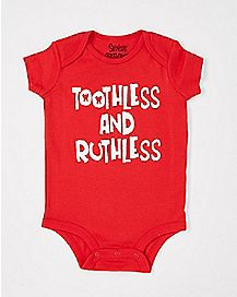 Toothless and Ruthless Baby Bodysuit