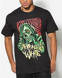 Skull Motionless In White T shirt