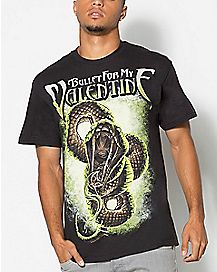 Snake Bullet For My Valentine T shirt