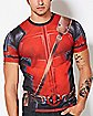 Costume Deadpool T shirt