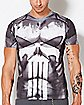 Sublimated Punisher T shirt - Marvel Comics