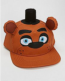 Freddy 3D Snapback Hat - Five Nights At Freddy's