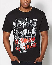In Squad We Trust Suicide Squad T shirt