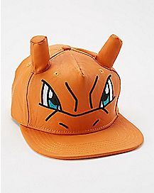 3D Charizard Pokemon Snapback Hat