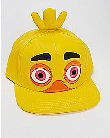 Chica 3D Snapback Hat - Five Nights At Freddy's