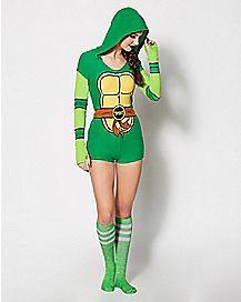 Hooded Romper - TMNT