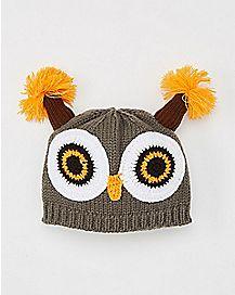 Owl Beanie Hat