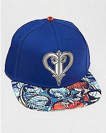 Kingdom Hearts Snapback Hat