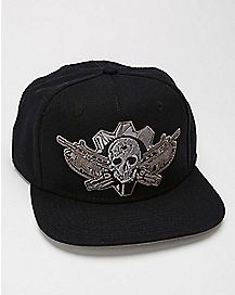 Gears Of War Snapback Hat