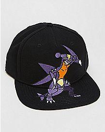 Garchomp Pokemon Snapback Hat
