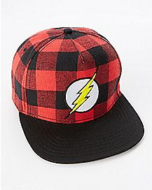 The Flash Plaid Snapback