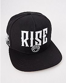 Rise Blackest Night Snapback Hat