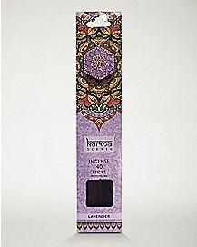 Lavender Incense Sticks with Holder - 40 Pack