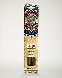 Sandalwood Incense Sticks with Holder - 40 Pack