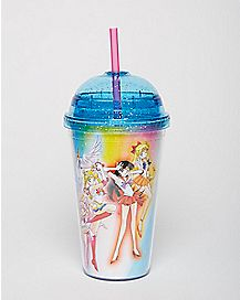 Sailor Moon Cup With Dome Lid - 16 oz.