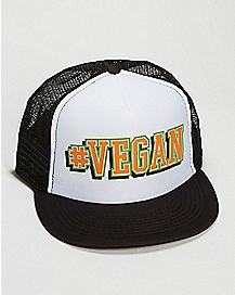 #Vegan Trucker Hat