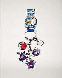 Dangle Pokemon Keychain