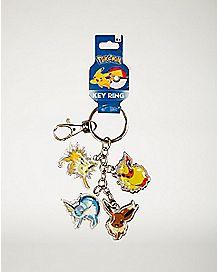 Dangle Eevee Pokemon Keychain