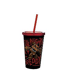 Fazbear Five Nights at Freddy's Cup with Straw - 16 oz