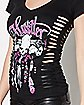 Feather Chimes T Shirt - Hustler