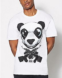 Panda Guns Suicide Squad T Shirt - DC Comics