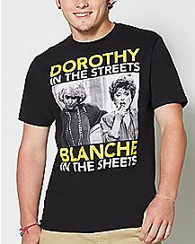 Dirty Blanche Golden Girls T shirt