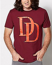 Logo Daredevil T Shirt - Marvel Comics