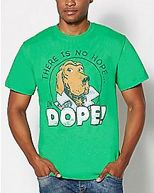 No Hope McGruff Crime Dog T Shirt