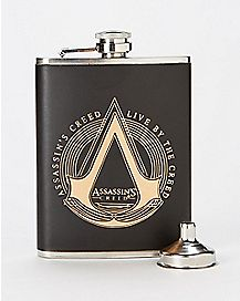 Live by the Creed Assassin's Creed Flask - 8 oz.