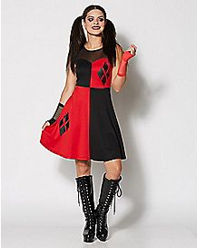 Harley Quinn Mesh Top Dress