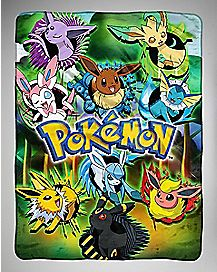 Eevee Pokemon Fleece Blanket