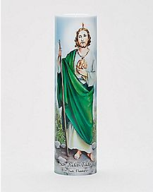 Saint Jude Flameless Prayer Candle