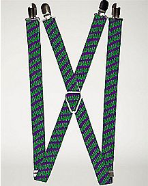 Haha The Joker Suspenders - DC Comics