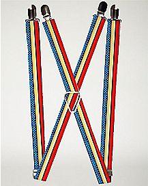 Wonder Woman Suspenders