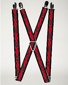 Deadpool Suit Up Suspenders - Marvel Comics