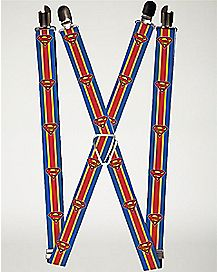 Superman Suspenders - DC Comics