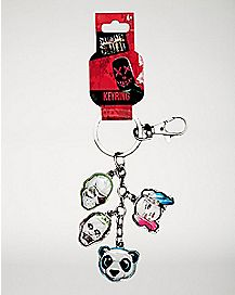 Group Suicide Squad Dangle Keychain