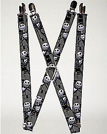 Jack Nightmare Before Christmas Suspender