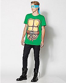 Teenage Mutant Ninja Turtles Costume T Shirt w Masks