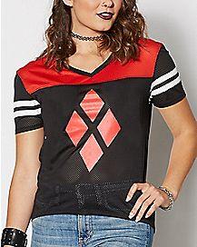 Diamond Harley Quinn Jersey T Shirt