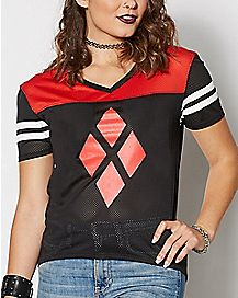 Harley Quinn Diamond Jersey - DC Comics